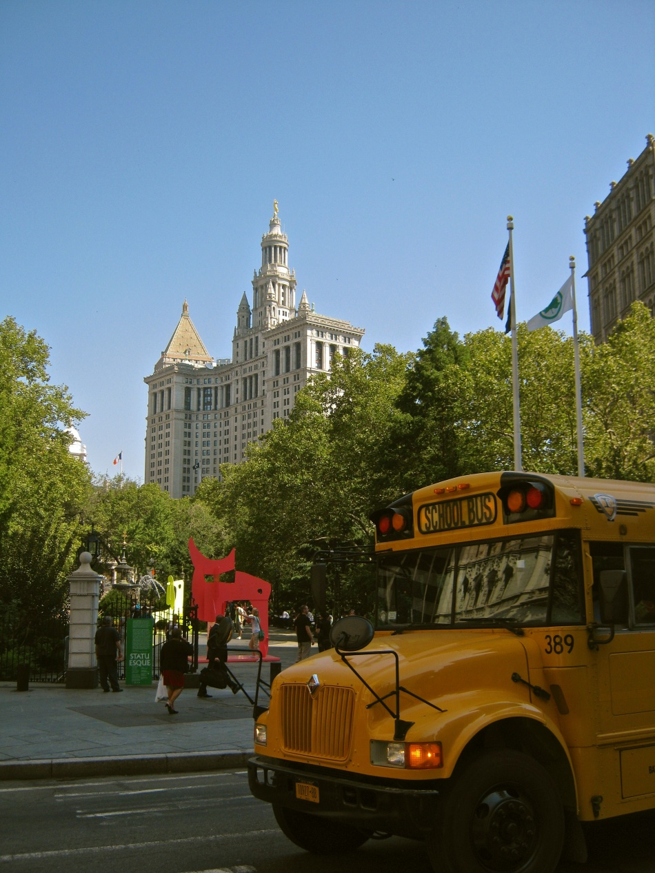 School Bus in New York