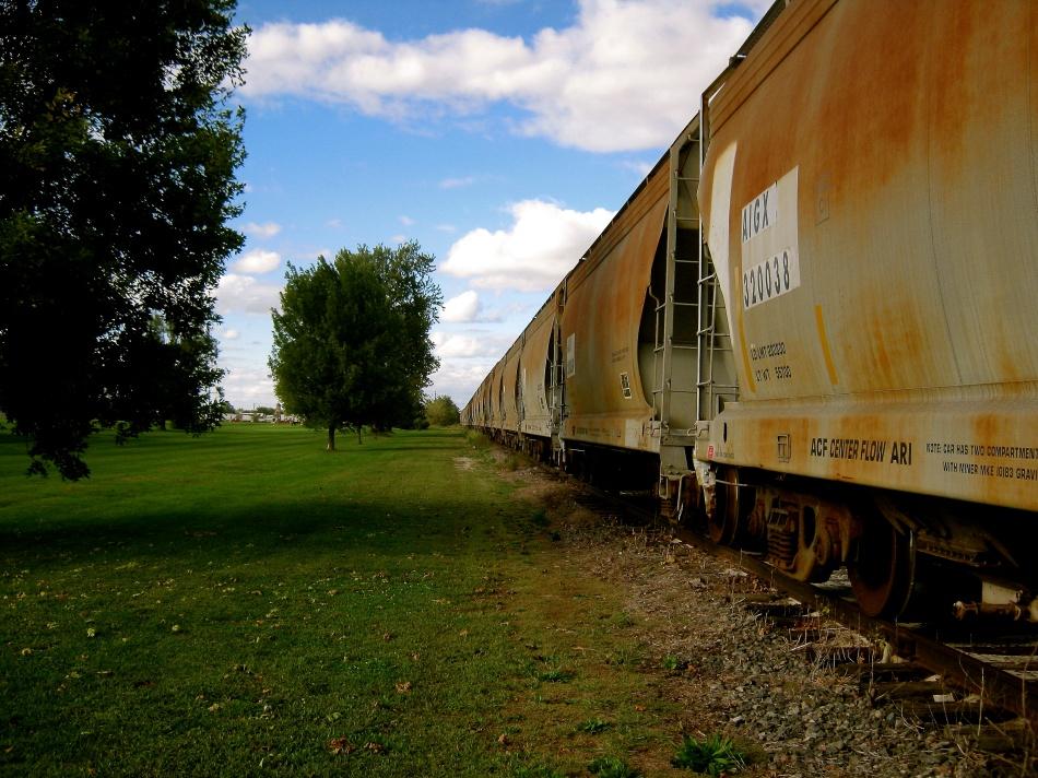 Illinois Train Tracks