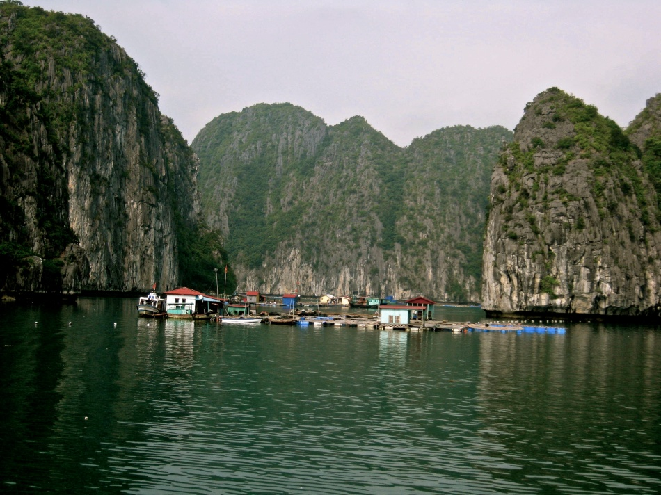 Ha Long Bay Floating Village