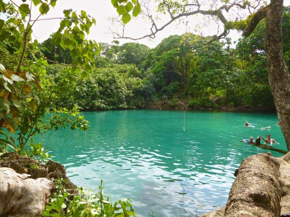 Blue Lagoon Swimming Hole Vanuatu