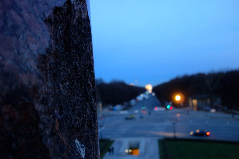 Victory Column Bullet-hole: Berlin