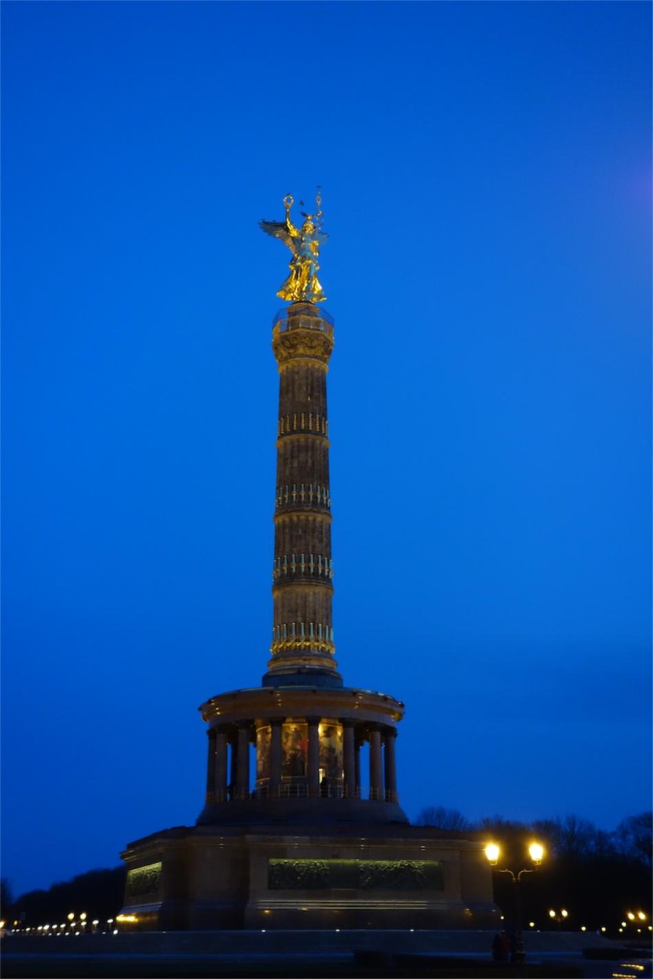 Victory Column at night - Berlin