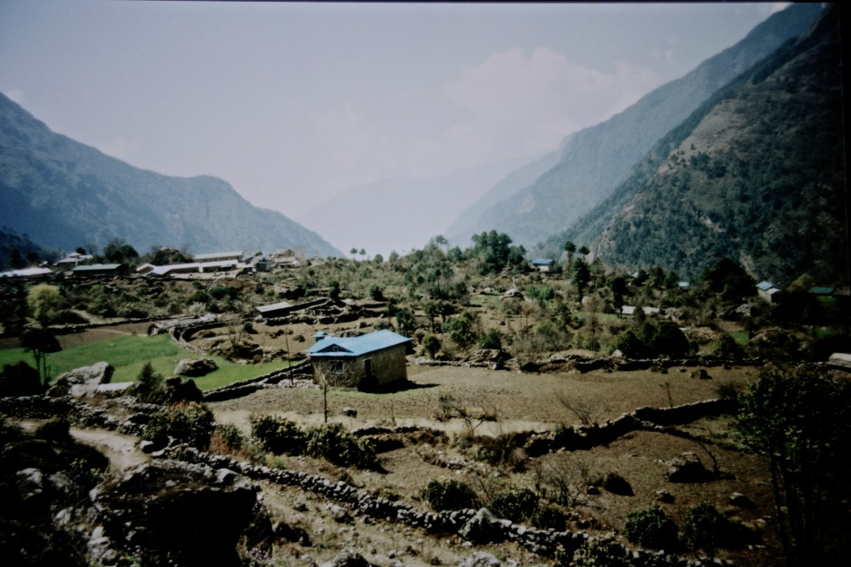 Sagarmatha National Park - Nepal - Hut and Farm