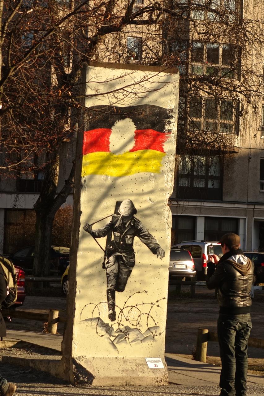 Berlin Wall - Soldier