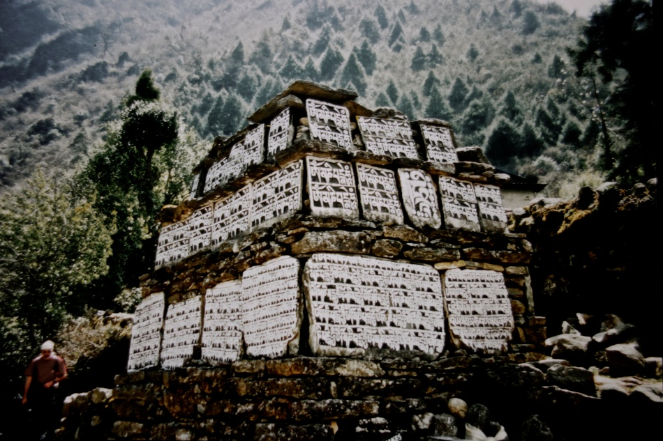 Sagarmatha National Park - Nepal - Prayer Stones