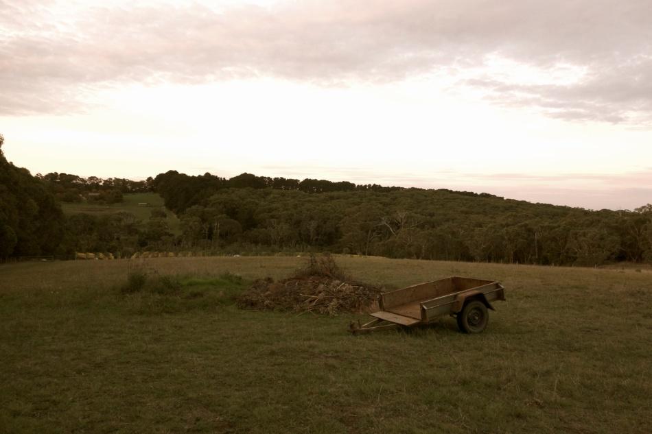 Trailer on a farm in Shoreham