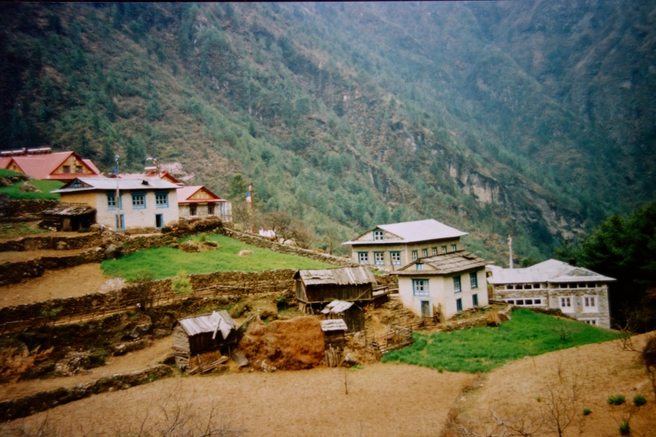Sagarmatha National Park - Nepal - Village
