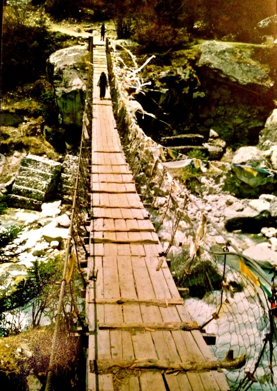 Nepal - Sagarmatha National Park - Bridge
