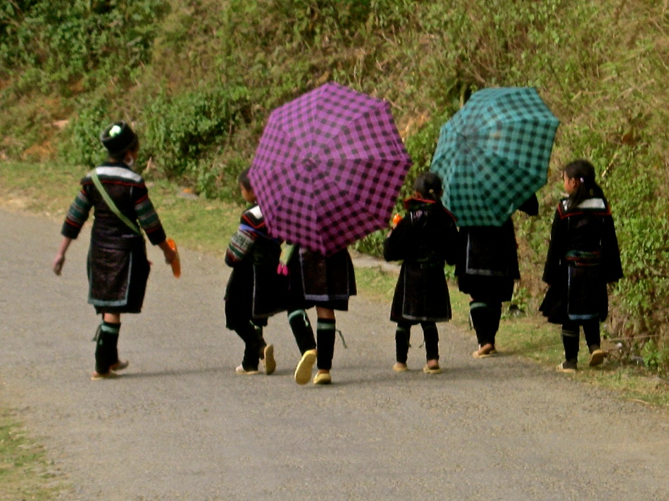 Black Hmong Children