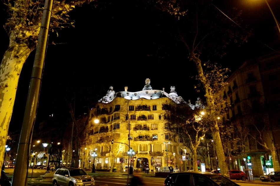 Barcelona - Gaudi Houses1