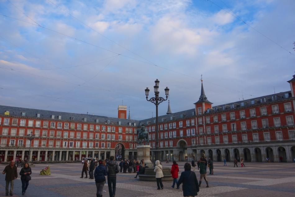 Madrid - Plaza Mayor4