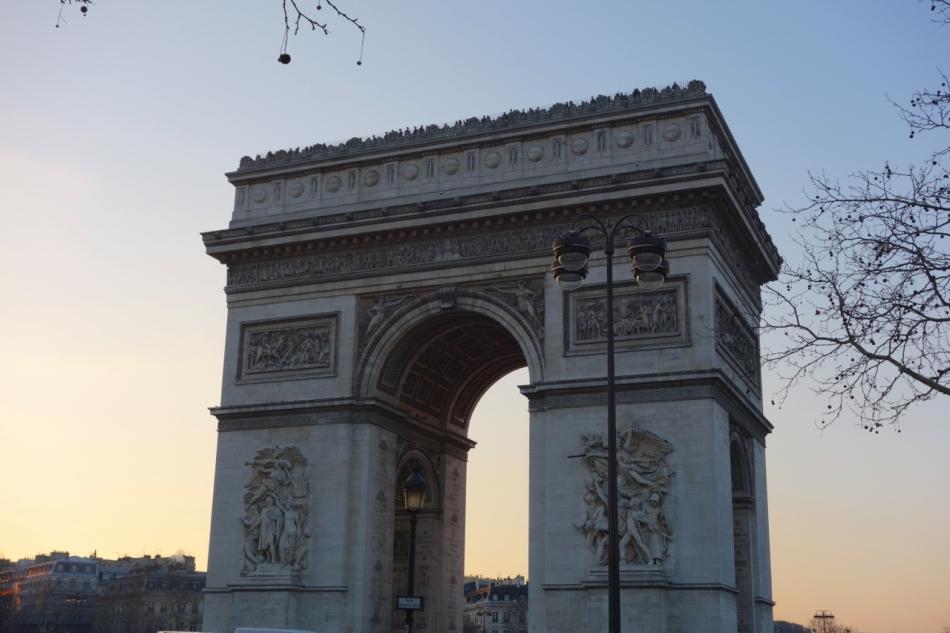 Paris - Arc de Triomphe2