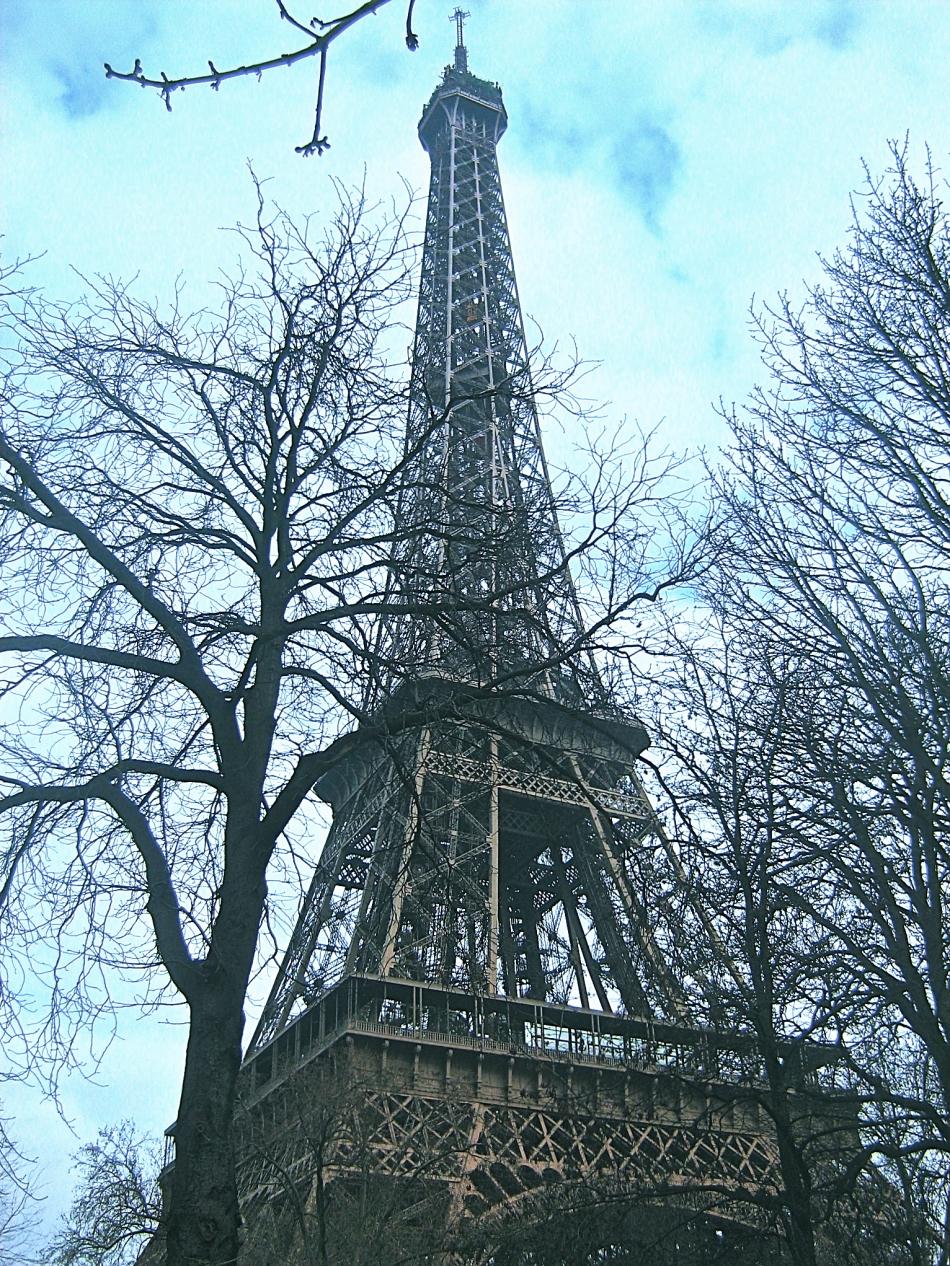 Paris - Eiffel Tower3c