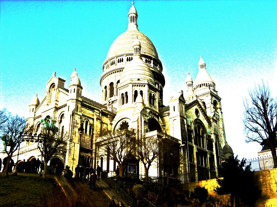 Paris - Sacre Coeur2