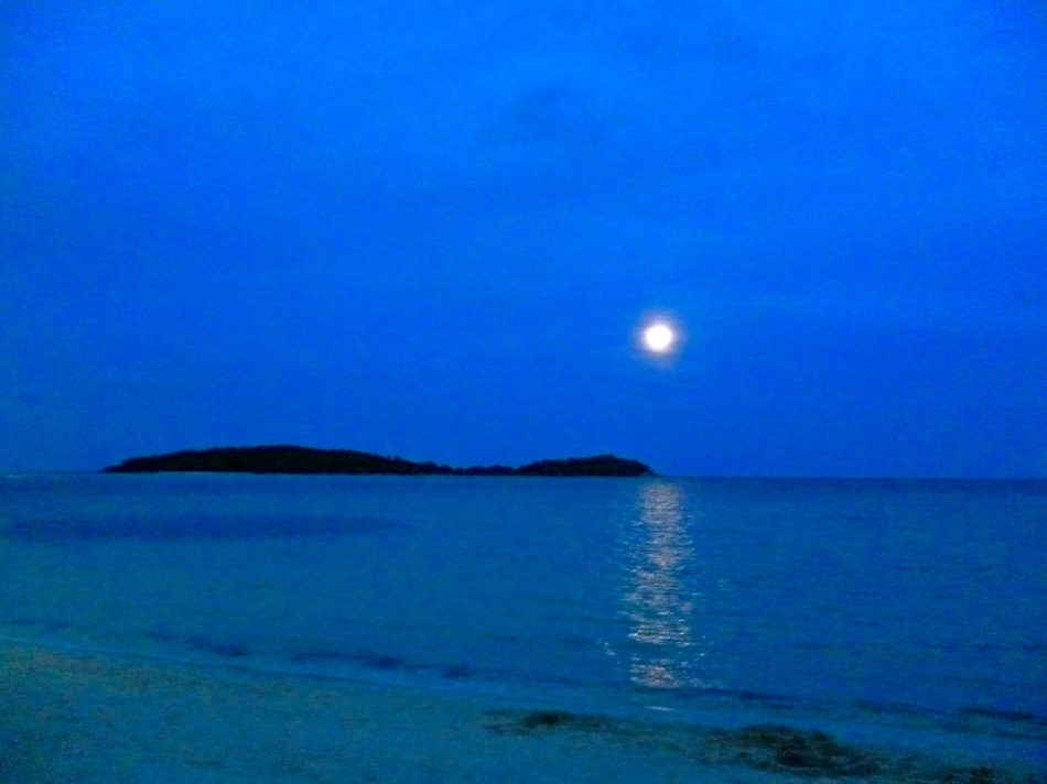 Moonlight over Koh Samui